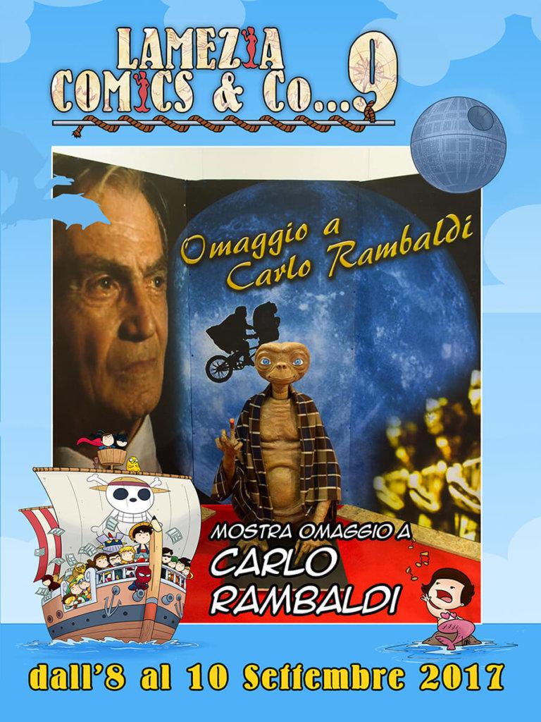Omaggio a Carlo Rambaldi - mostra - Lamezia Comics and Co... 2017